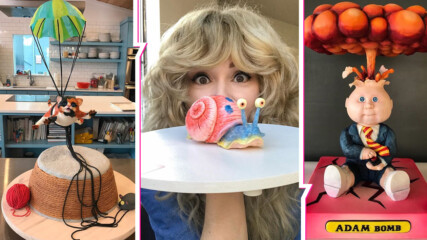 Красивата сладкарка, която изумява с уникалните си торти