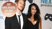 Naya Rivera arrested for allegedly abusing hubby