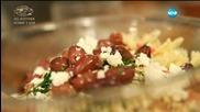 Салата с паста и печени домати - Бон апети (12.08.2015)