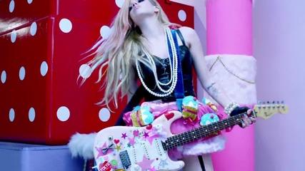 Avril Lavigne - Hello Kitty ( Официално Видео ) + Превод