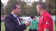 Младенов: Вкараха ни нелеп гол, такава грешка се случва веднъж в кариерата