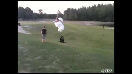 Булката го отнесе