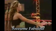 Mickie James - La La [ Awesome Fabulous ]
