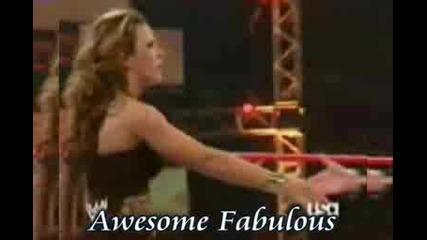 Mickie James - La La [ Awesome Fabulous ]