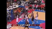 Tayshaun Prince Dunks on Drew Gooden