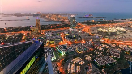 Уникaлнa гледка от Дубай ( O A E)