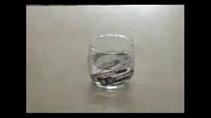 Как водата ГОРИ !?