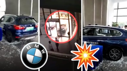 Безумие! МАЦКА разби чистак ново BMW заради тъпа причина