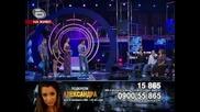 Music Idol 3 - Александра - Както преди - Страхотното изпълнение на Александра й донесе много похвал