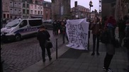 France: Protesters condemn sentancing of six refugees to prison