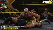 Top 10 Mejores Momentos de NXT En Español: WWE Top 10, Sep 16, 2020
