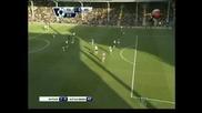 """Бербатов се разписа при победата на """"Фулъм"""" с 2:0 срещу """"Астън Вила"""""""