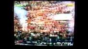 Paok - Olympiakos 97 (лудите Фенове На Паок)