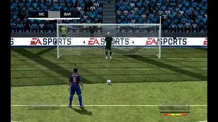 Fifa 12 Барселона - Манчестър Сити {hq}