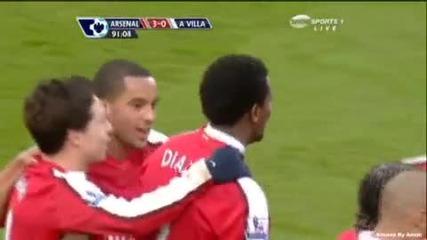 Арсенал - Астън Вила 3:0
