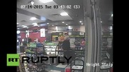 Canada: Knife-wielding criminal with a MOUSE'S HEAD robs liquor store!