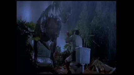 Jurassic Park T-rex Music Video