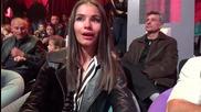 Dancing Stars - Виолета Марковска подкрепя Нели и Наско (03.04.2014г.)