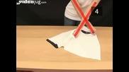 Как да сгънеш тениска за 2 секунди!
