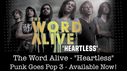 The Word Alive - Heartless (cover)