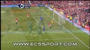 Manchester United 0 - 2 Chelsea ( Drogba )