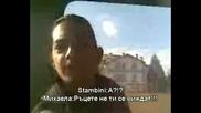 Михаела & Stambini Превзеха И Градския Транспорт!!!