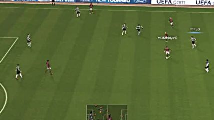 Pes2014 - Juventus - A.c Milan - първо полувреме