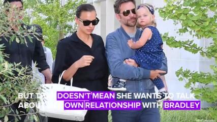 Защо Ирина Шейк не говори за връзката си с Брадли Купър?
