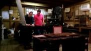 Печатарската преса в музея Маккензи
