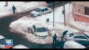 Как в Букурещ отмъщават на тези, които заемат чуждо място за паркиране