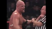 Wwf Rebellion 2001 The Rock Vs. Stone Cold Steve Austin - Част 2