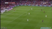 Страхотна Барселона. Адриано с Красив Гол...