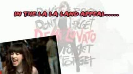 Demi Lovato - La Land [karaoke Instrumental]