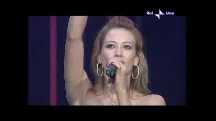 Hilary Duff - Wake Up Live Sanremo 2006