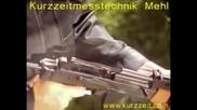 Автомат Калашников. Стрелба на забавен кадър.