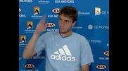 Australian Open 2009 : Ден 5   Интервюта (нощтна сесия)