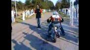 Suzuki Hayabusa vs Yamaha Jog