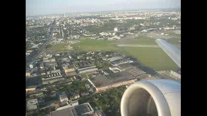 Излитане От Варшава - Лот Боинг 737