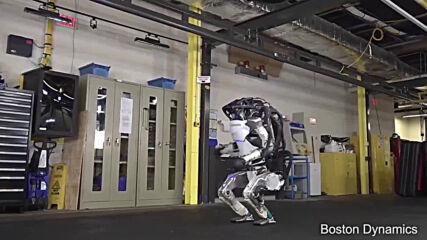 Роботът Atlas на Boston Dynamics