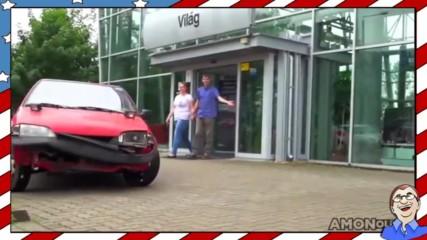 Ето как се взима нова кола от магазина със стил