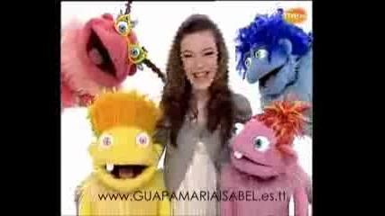 Maria Isabel la presentadora de Los Lunnis