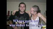 Neli Sedaka - One Way Ticket To Blues Кара