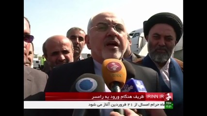 Iran: FM Zarif calls for an end to Nagorno-Karabakh conflict