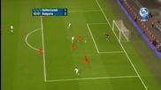 Илиян Мицански отбелязва победен гол за България ( Холандия 1-2 България)