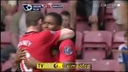22.08 Уигън - Манчестър Юнайтед 0:1 - Гол на Уейн Рууни