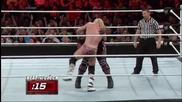 Dolph Ziggler vs. Mark Henry - Beat the Clock Challenge Raw, May 19, 2014