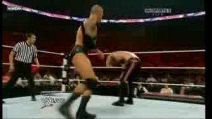 Raw 6 юни 2010 ... Еdge vs Randy Orton Бой със Една Ръка.