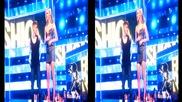 Джъстин Бийбър се съблича по боксерки на сцената на Fashion Rocks