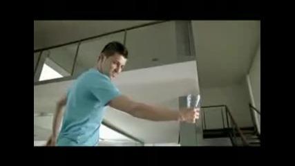 David Villa \ Давид Вийа рекламира Mcdonalds