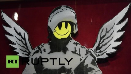 France: Early Banksy piece sells for over HALF A MILLION in Paris!